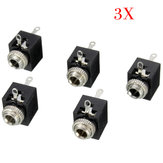 15pcs PCB Panel Mount 3.5mm Female Earphone Socket Jack Connector