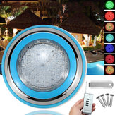 Fontana da piscina 45W RGB luce a led Coloreful IP68 impermeabile Flash lampada con interruttore di comando remoto