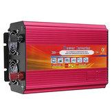 LCD Инвертор питания DC 12V / 24V к AC 110V / 220V 6000W Пиковый модифицированный преобразователь синусоидальной волны