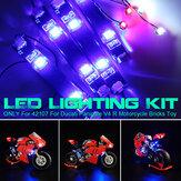 USB DIY LED Light Lighting Kit For LEGO 42107 For Ducati Panigale V4 R Motorcycle