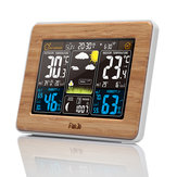 FanJu FJ3365 Draadloos weerstation Multifunctionele digitale klok Temperatuur Luchtvochtigheid Despertador Moon Phase Desktafel LCD-alarmklok