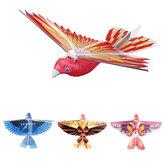 10.6 Polegadas Elétrica Flapping Asa Pássaro Brinquedo Avião Recarregável Brinquedo Crianças Ao Ar Livre Fly Toy