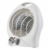 Household Portable Desktop Fan Heater Upright Home Oscillating Electric Heater 2000W 220V-240V EU Plug
