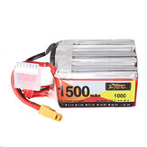 ZOP Power 22.2V 1500mAh 100C 6S Lipo Батарея XT60 Разъем для RC Racing Дрон