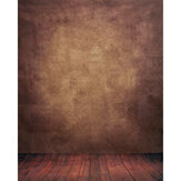 5x7FT Abstract Brown Studio Vinyl Floor Backdrop Photography Background