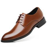 Men Classic Soft Comfortable Formal Business Oxfords Leather Shoes