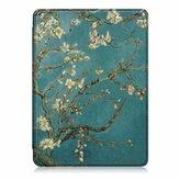 Cubierta para tableta de impresión Caso para Kindle Paperwhite4 - Apricot Blossom
