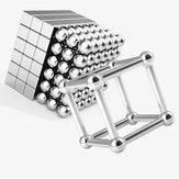 80 pcs Buck Ball + 78 pcs Barra Magnética Cube Mistura Brinquedos Magnéticos de Neodímio N35 Ímã Brinquedo