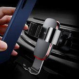 Baseus Metal Gravity Linkage Auto Lock Car Mount Air Vent Holder Stand for Samsung S9 Mobile Phone