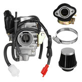 GY6 125cc 150cc Carburetor With Air Filter For Go Kart Scooter 152QMI 157QMJ PD24J