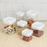 Hava geçirmez Mutfak Gıda Saklama Kabı Kapaklı Vakum Mühür Tahıl Gıda Taze Tutulması Kutu