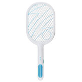 2000MAH Electric Mosquito Swatter Rechargeable Household 3 Layer ABS Safety Grid Electric Bug Zapper Portable Mosquito Artifact