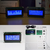 Geekcreit® Multifunctioneel LCD-muziekspectrum Groot lettertype DS3231 Klok DIY-set