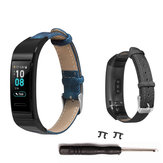 Bakeey Denim Leather Watch Band for Huawei Band 3/3 pro Smart Watch