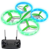 Eachine E65H Mini Altitude Hold Modalità senza testa Rotazione a 360 ° LED RC Drone Quadcopter RTF