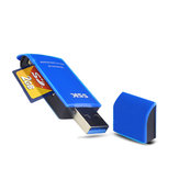 SSK SCRM331 2-in-1 USB 3.0 to Micro SD / TF / SD Card Reader