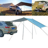Car Side Awning Waterproof UV-proof Rooftop Tent Canopy for Outdoor Camping Travel