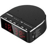 LEADSTAR MX-17 Portable Wireless bluetooth Speaker LED Alarm Clock TF Card FM Radio Subwoofer