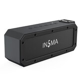 INSMA S400 PLUS 40W NFC bluetooth TWS Wireless Stereo Speaker Tri-Bass IPX7 Waterproof Speaker with Type-C Charging