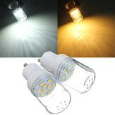 GU10 3W Wechselstrom 110 V LED Glühlampe Weiß / Warmweiß 9 SMD 5730 heller Punkt Mais Lampe
