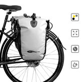 AFISHTOUR Folding 15-25L Bicycle Rear Seat Bag Waterproof Cycling Sides Bag Seatpost Bag MTB Luggage Rear Frame Bag