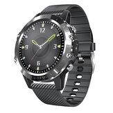 [Monitor SpO2 indipendente] Bakeey P8 Schermo a sfioramento completo da 1,3 '' ECG + PPG Cuore Monitoraggio della pressione sanguigna Indice HRV 30 giorni in standby IP68 Smart Watch