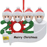 Christmas Decorations Christmas Tree Mask Santa Snowman Ornaments New Year Decoration
