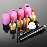 16pcs Large Gas Lens TIG Welding Torch Nozzle Cup Kit For WP-17/18/26 Series