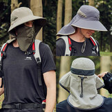Sun Protection Cover Face Visor Outdoor Fishing Hat Summer Quick-drying Cap Breathable Hat Baseball Cap