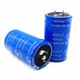 Super Fala Capacitor 2.7v500f pode ser usado como retificador de veículo. Capacitor inicial de baixa temperatura azul 2.7V 500F