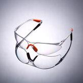 نظارات حماية العين من الغبار واقية من الغبار مختبر العمل حملق Soft جسر الأنف للرعاية الصحية