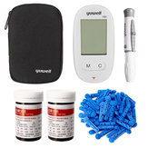 Blood Glucose Meter Diabetic Testing Monitors with 50X Strips 50X Lancets Set