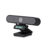 SV3C X1 HD 1080P内蔵マイクコンピュータを備えたウェブカメラUSBウェブカメラリモートスタディおよびPCラップトップ用の録音会議カメラを呼び出す作業ビデオ