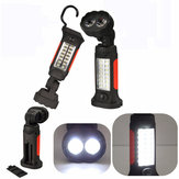 Magnetic 16 LED Inspection Hanging Camping Hand Flashlight