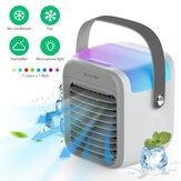 BlitzWolf®BW-FUN10 4 in 1 portatile multifunzione condizionatore d'aria Ventola di raffreddamento 300 ml Serbatoio dell'acqua 3 Velocità del vento 2600 mAh Incorporata Batteria