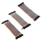120pcs 20cm Male To Female Female To Female Male To Male Color Breadboard Jumper Cable Dupont Wire Combination For