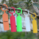 50pcs Hanging Plant Waterproof Tags Garden Flower Vegetable Planting Label Tools