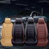 ترف بو الجلود كامل مقعد سيارة غطاء مقعد وسادة الحيوانات الأليفة وسادة حصيرة حامي سيارات الدفع الرباعي