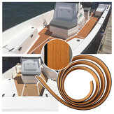 2400x58x5mm Soft Plastic Wood Non-slip Anti-collision Self-adhesive Eva Boat Side Mat for Luxury Yachts Rvs Boats and Car Accessories