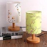 14 * 20 CM Vintage E27 Lamba Tutucu Çiçek Kuş Lamba Gölge Masa Tavan Işık Kapağı