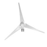 NE 12 V / 24 V 1000 W Piek 3-blads windturbinegenerator Windmolenvermogen met laadregelaar