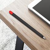 Bakeey Anti-Slip Anti-Fall Силиконовый Стилус для сенсорного экрана Ручка Защитный Чехол с крышкой для Apple Ручкаcil 1-го / 2-го поколения