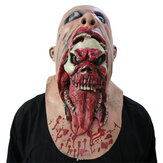 Halloween Adult Sloth Deluxe Latex Mask Scary Costume Fancy Mask Zombie Mask Decoration Props