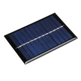 5pcs 0.6W 6V 90*60*3mm Mini Photovoltaic Epoxy Solar Panel DIY Part