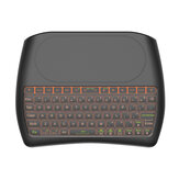 D8 USB 2.4G Wireless Mini Keyboard with 4.5 inch Touchpad Air Mouse Remote 7 Color Backlight Smart Remote Control