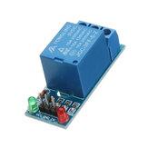 Wyzwalacz niskiego poziomu 5 V One 1 kanał przekaźnika modułu płyty interfejsu Tarcza DC AC 220 V.