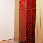 1 mt x 2 mt Liebe Herz String Vorhänge Quaste Drapieren Für Wand Vestibül Tür Fenster Wohnkultur