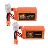 2Pcs URUAV GRAPHENE 3S 11.1V 850mAh 110C Lipo Battery XT30 Plug for FPV RC Racing Drone