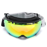 6.9 X 3.7in Ski Mountain Bike Goggles Snowboard Lens Spiegelbril Winddicht Sneeuw Anti-UV Outdoor