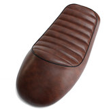 мотоцикл Hump Cafe Racer Седло Seat Brown для Honda-CB Suzuki-GS Yamaha-XJ